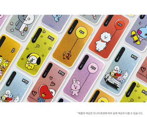[BT21] HANGING OUT GRAPHIC LIGHT UP CASE (HYBRID) FOR IPHONE