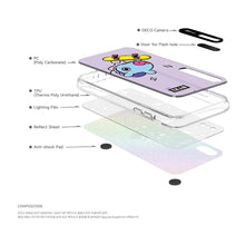 Load image into Gallery viewer, [BT21] HANGING OUT GRAPHIC LIGHT UP CASE (HYBRID) FOR IPHONE