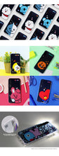Load image into Gallery viewer, [BT21] PRESS ME GRAPHIC LIGHT UP CASE (HYBRID) FOR IPHONE