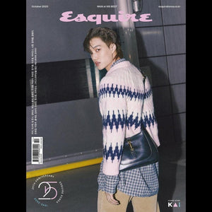 ESQUIRE KOREA MAGAZINE OCT. 2020 EXO KAI
