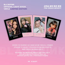Load image into Gallery viewer, BLACKPINK Official Light Stick Ver.2 (Free Shipping)