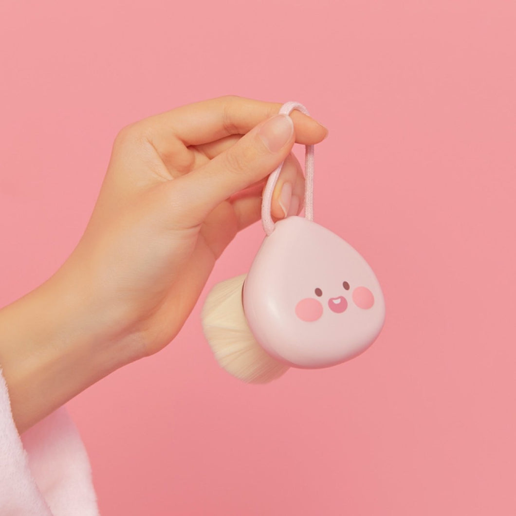KAKAO FRIENDS - Official Lovely Apeach Facial Cleansing Brush