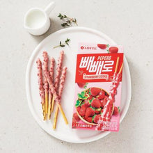 Load image into Gallery viewer, LOTTE Strawberry Pepero 37g