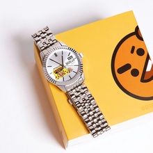 Load image into Gallery viewer, [BT21] OST Silver Metal Watch Ver.1