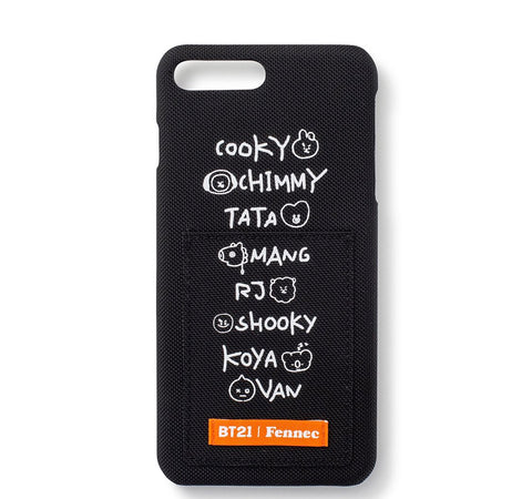 [BT21] Official Fennec Lettering iPhone Case
