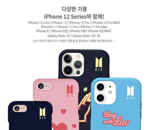 BTS - Official ''Boy With Luv'' Dual Guard Case for iPhone and Galaxy