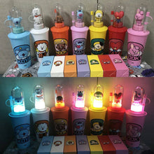 Load image into Gallery viewer, [BT21] Limited Tumbler Bottle + Mood light + Stamp (Free Shipping)
