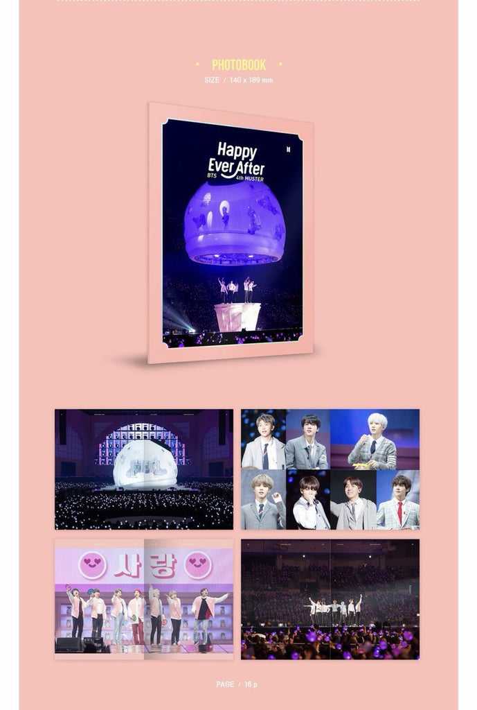 BTS 4th Muster Happy Ever After DVD/BLU-RAY (Free Shipping) – KpopCloud