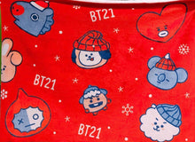 Load image into Gallery viewer, [BT21] LIMITED Christmas Blanket Winter Collection
