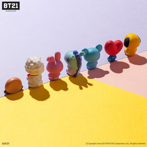 [Sale] Set 7 BT21 Monitor Figure + BT21 Keyboard Pad