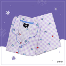 Load image into Gallery viewer, [BT21]  Check Pajamas Holidays