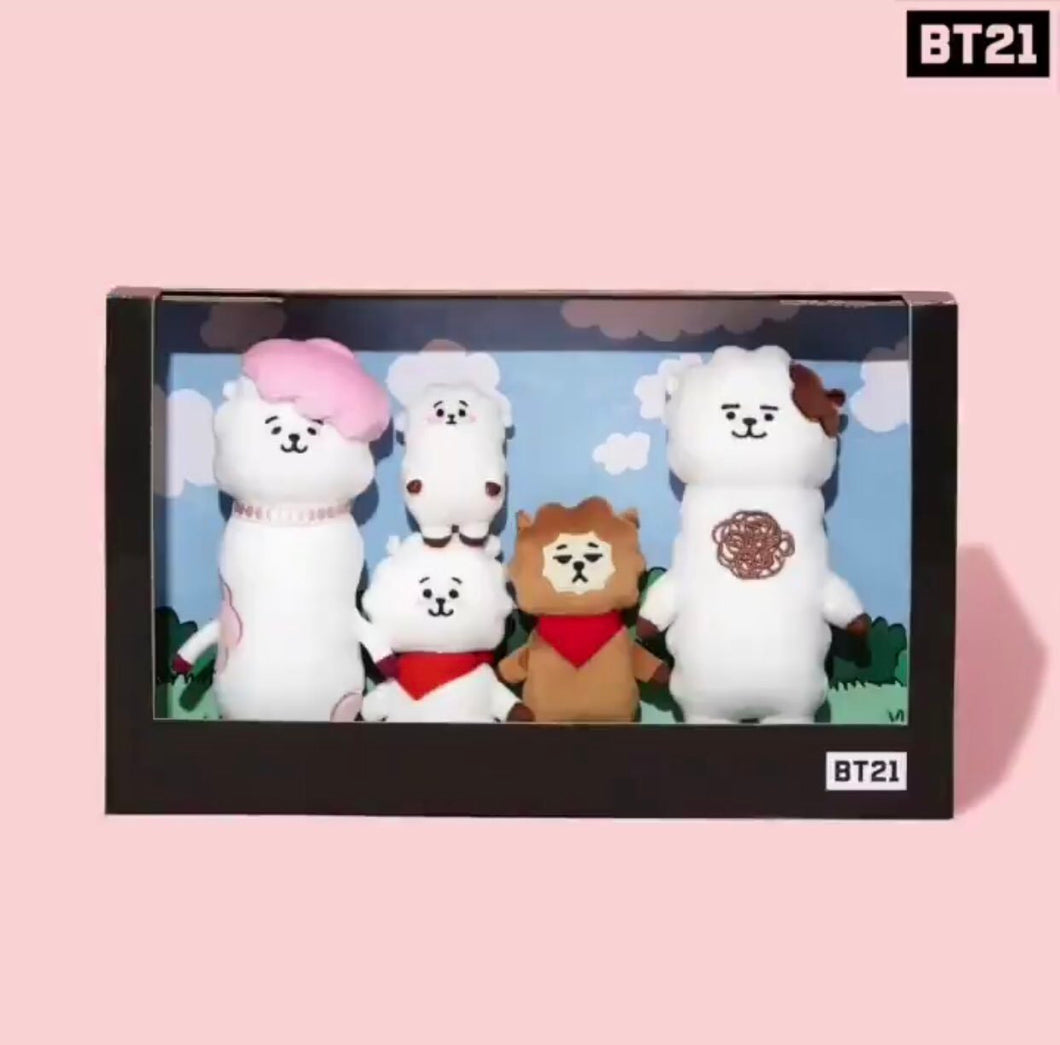 BT21 Official RJ Family Doll SET (Limited Edition)