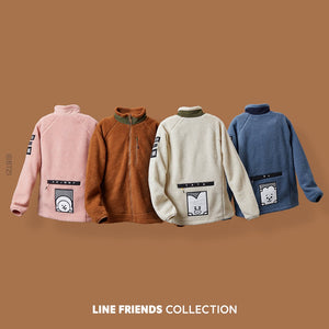 BT21 Official Fleece Jacket (Free Shipping)