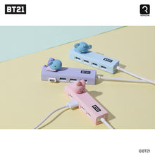 Load image into Gallery viewer, BT21 Official Baby Figure 4-Port USB 3.0 Hub
