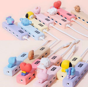 BT21 Official Baby Figure 4-Port USB 3.0 Hub