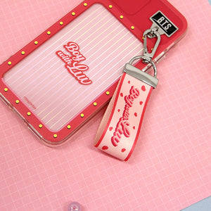BTS - Official Boy With Luv Finger Strap