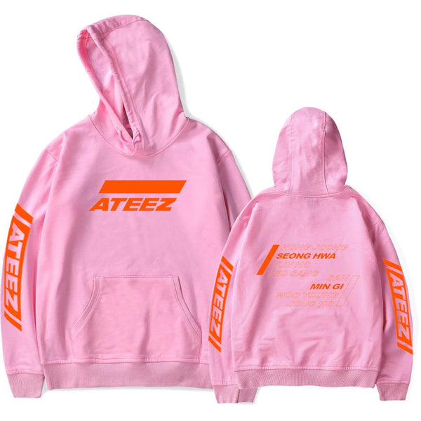 [ATEEZ] Members Hoodie Fan Good