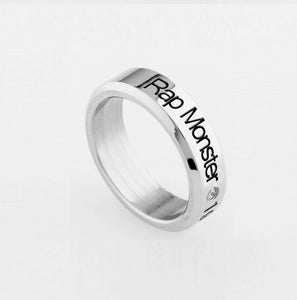 [BTS] Stainless Steel BTS Rings