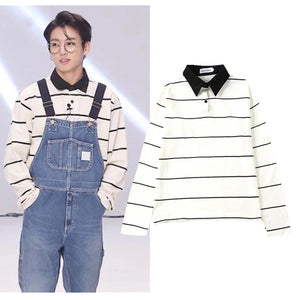 [BTS] Jungkook ''Stripes'' Shirt