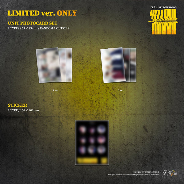 STRAY KIDS Clé 2 : Yellow Wood Limited Ver.