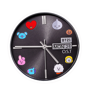 [BT21] OST Silver Metal Watch Ver.TOGETHER
