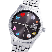 Load image into Gallery viewer, [BT21] OST Silver Metal Watch Ver.TOGETHER