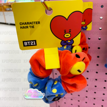 Load image into Gallery viewer, [BT21] Official Scrunchy Hair Tie