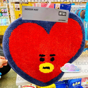 [BT21] Official Indoor Mat 49x56cm / 19.2x22in