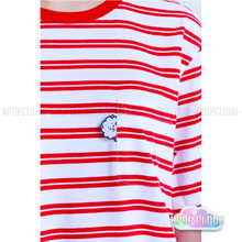 Load image into Gallery viewer, [BT21] Official Red Striped Shirt