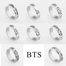 Load image into Gallery viewer, [BTS] Stainless Steel BTS Rings