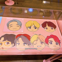 Load image into Gallery viewer, OFFICIAL HOUSE OF BTS SEOUL MD – CHARACTER MOUSE PAD