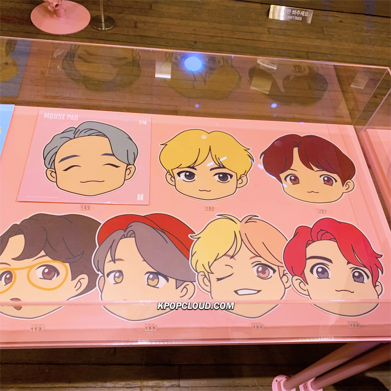OFFICIAL HOUSE OF BTS SEOUL MD – CHARACTER MOUSE PAD