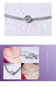 BTS V ''Style'' Smile Stainless Steel Necklace