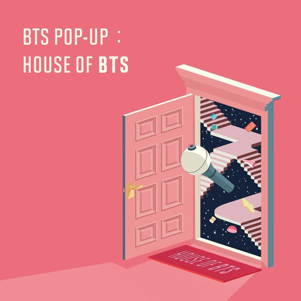 OFFICIAL HOUSE OF BTS SEOUL MD – IDOL