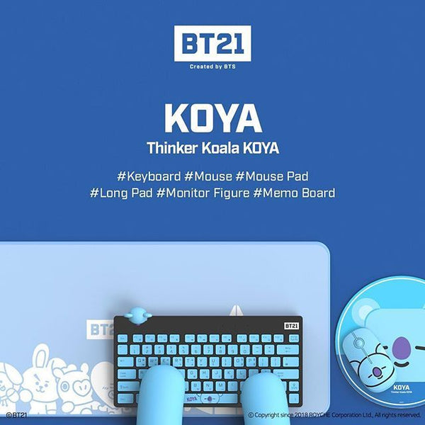 [BT21] OFFICIAL KEYBOARD WIRELESS