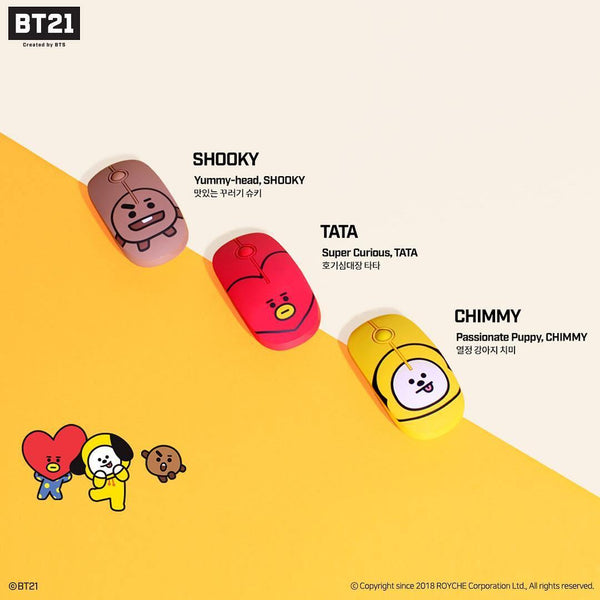[BT21] OFFICIAL WIRELESS MOUSE