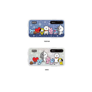 [BT21] BASIC GRAPHIC LIGHT UP CASE (HYBRID) FOR IPHONE