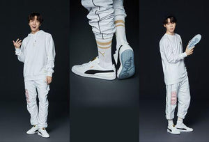 [LIMITED EDITION PUMA X BTS] BTS Basket Patent Sneakers