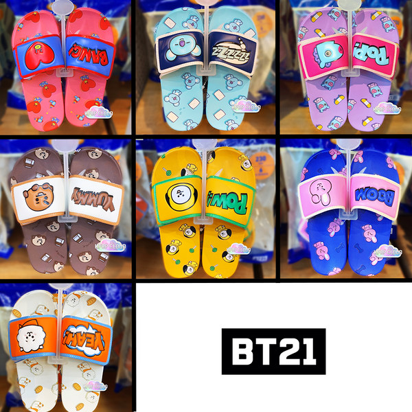 [BT21] Official Velcro Slippers