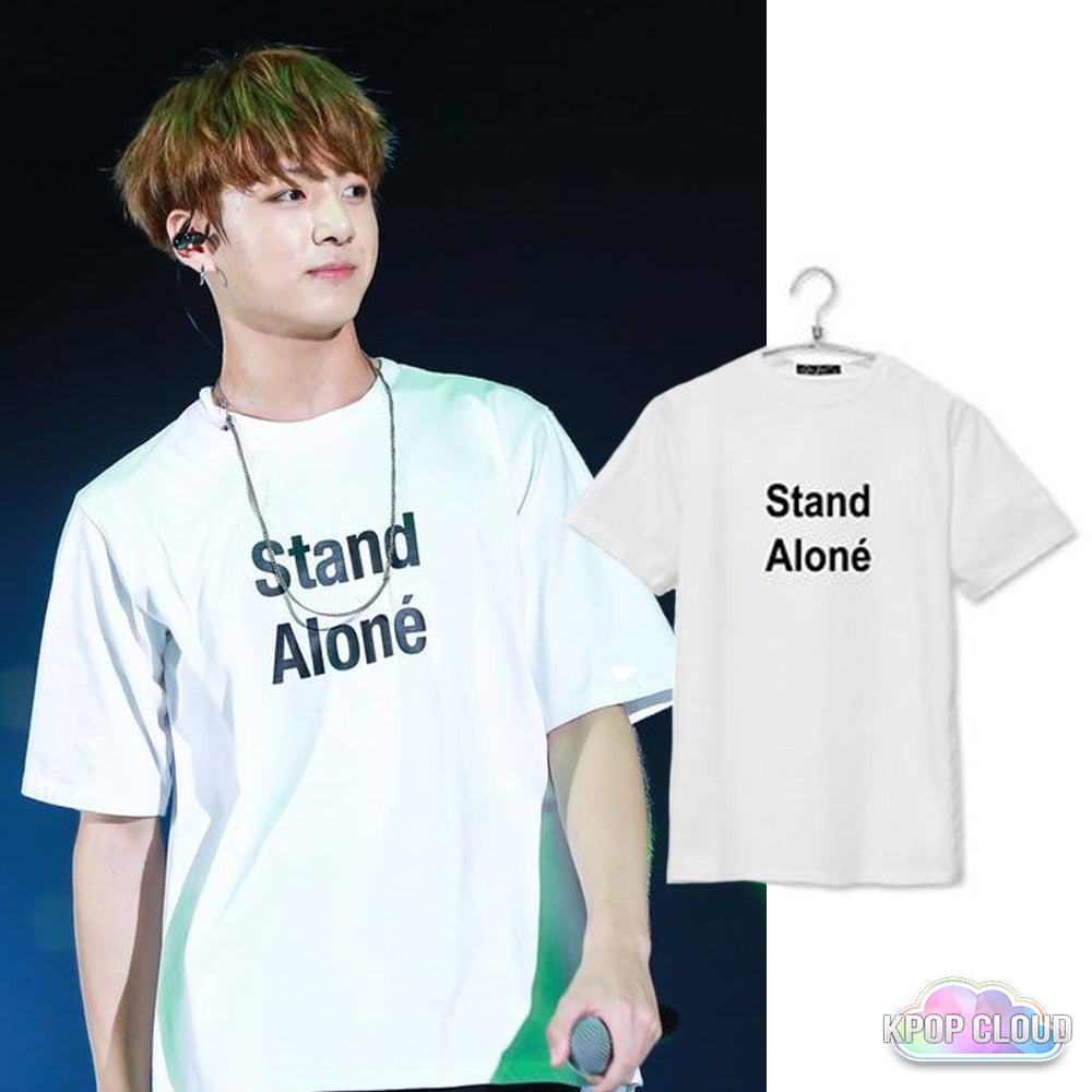[BTS] Jungkook ''Stand Alone'' Shirt
