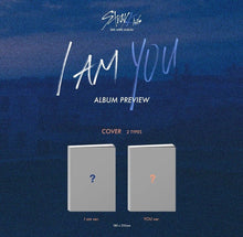 Load image into Gallery viewer, STRAY KIDS - I am YOU (3rd Mini Album) CD+ Folded Poster [You can choose ver. + Free Shipping]