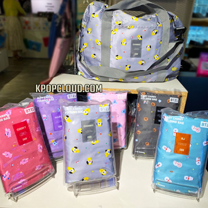BT21 OFFICIAL EASY CARRY FOLDING BAG