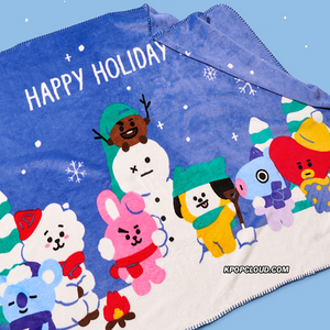 BT21 Official 2019 Winter Season Blanket