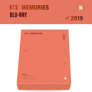 BTS MEMORIES OF 2019 Blu-Ray (Free Express Shipping)