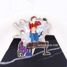 Load image into Gallery viewer, BTS ''ALL MEMBERS'' Enamel Pin
