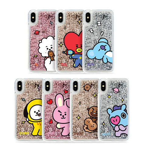 [BT21] Glitter Case Hang Out Comic Series