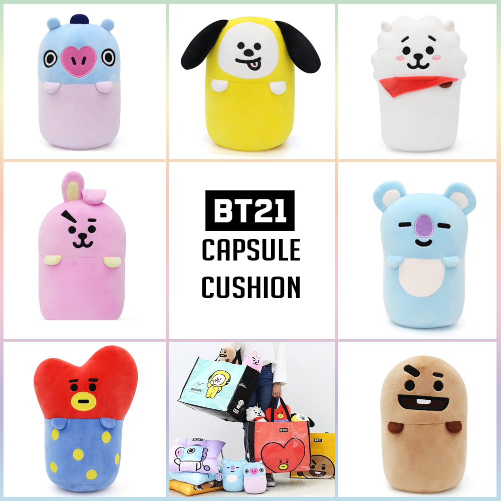 [BT21] Official Capsule Cushion