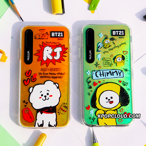 BT21 Official Doodling Graphic Light Up Case