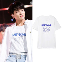 Load image into Gallery viewer, BTS Jungkook Style ''Baby'' Shirt