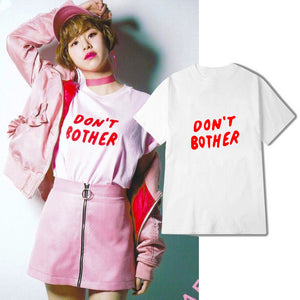 [Twice] Chaeyoung ''Dont Bother'' Shirt